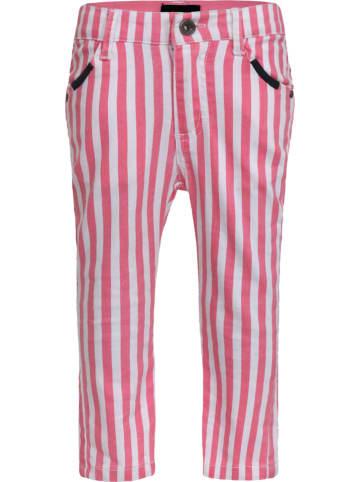 Beebielove Broek roze/wit