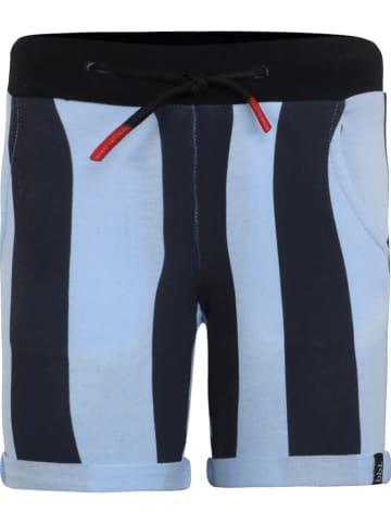 Beebielove Short lichtblauw/donkerblauw