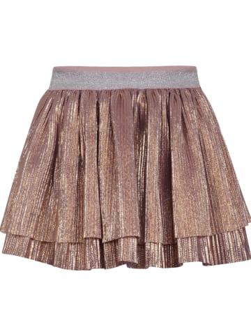 Beebielove Spódnica w kolorze różowozłotym