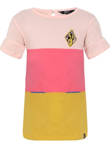 Beebielove Sukienka w kolorze różowo-żółtym