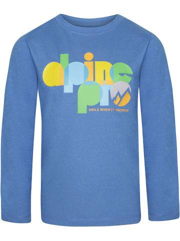 "Alpine Pro Functioneel shirt ""Teofilo 9"" blauw"
