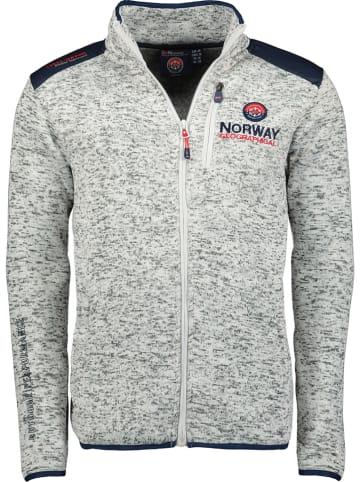"""Geographical Norway Kurtka polarowa """"Tavid"""" w kolorze białym"""