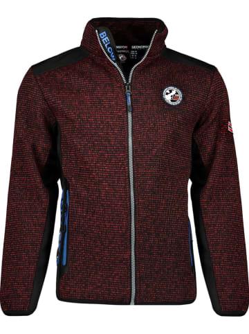 """Geographical Norway Fleece vest """"Tangelo"""" bordeaux"""
