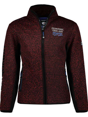 "Geographical Norway Fleece vest ""Tommy"" bordeaux"