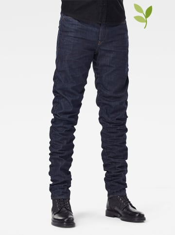 "G-Star Spijkerbroek ""Staq"" - straight tapered fit - blauw"