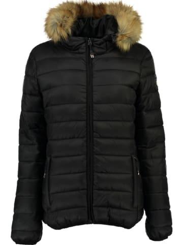 """Geographical Norway Kurtka zimowa """"Clara"""" w kolorze czarnym"""