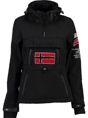 "Geographical Norway Softshelljacke ""Topale"" in Schwarz"