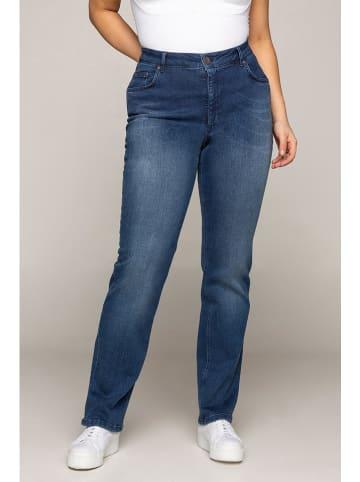 "Ulla Popken Jeans ""Mandy"" - Regular fit - in Blau"