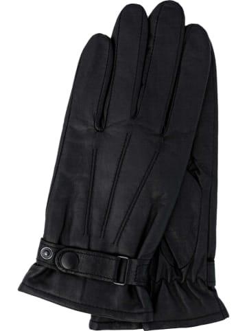 Gretchen Skórzane rękawiczki w kolorze czarnym