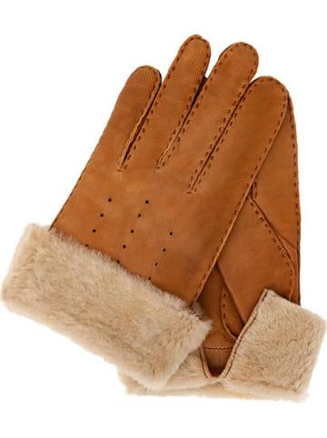 Gretchen Leren handschoenen lichtbruin