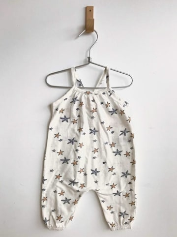 Cotton Fish Overall in Creme