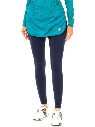 Buff 2-delige hardloopoutfit turquoise