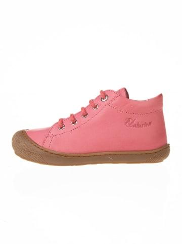 "Naturino Leren sneakers ""Cocon"" abrikooskleurig"