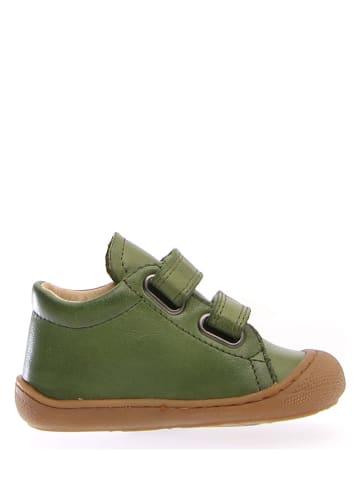 """Naturino Leren sneakers """"Cocon"""" groen"""