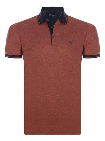 Felix Hardy Koszulka polo w kolorze rdzawobrązowym