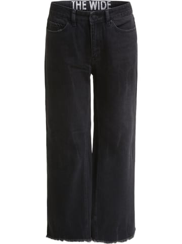 Oui Dżinsy - Comfort fit - w kolorze czarnym