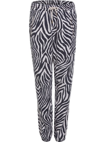 Oui Spodnie w kolorze czarno-białym