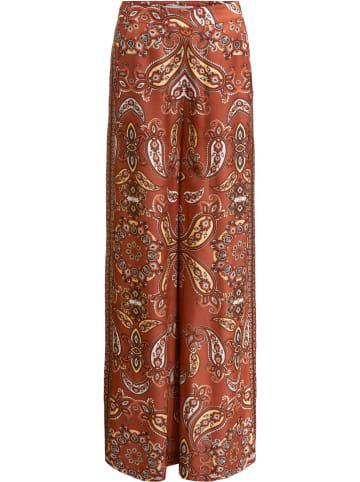 Oui Spodnie w kolorze jasnobrązowym