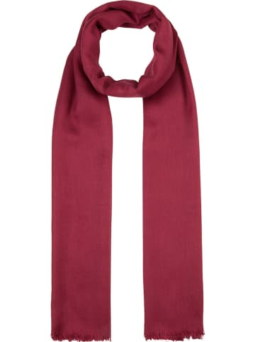 Codello Woll-Modal-Schal in Rot - (L)190 x (B)70 cm