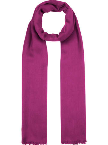 Codello Woll-Modal-Schal in Lila - (L)190 x (B)70 cm