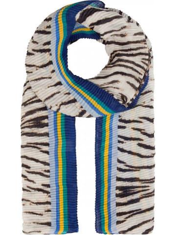 Codello Szal w kolorze biało-niebiesko-czarnym - 200 x 95 cm
