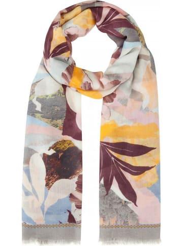 Codello Sjaal grijs/bruin/geel - (L)180 x (B)90 cm