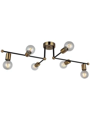Homemania Lampa sufitowa w kolorze złoto-czarnym - (S)87 x (G)49 cm