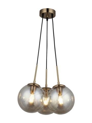 Homemania Lampa wisząca w kolorze czarno-złotym - (S)40 x (G)40 cm