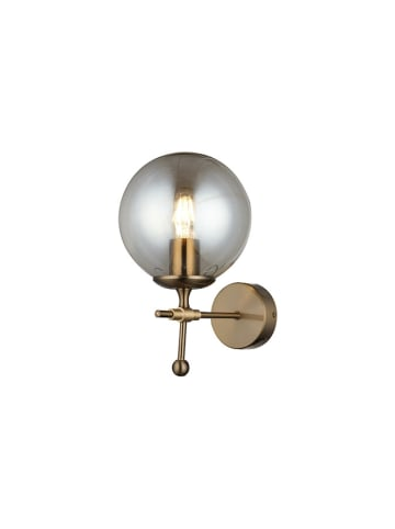 Homemania Wandlamp zwart/goudkleurig - (B)18 x (H)29 cm