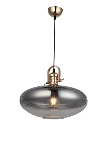 Homemania Lampa wisząca w kolorze złoto-szarym - Ø 40 cm