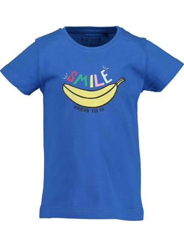 Blue Seven Shirt in Blau