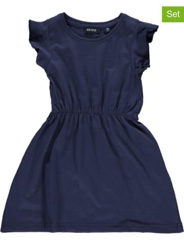 Blue Seven 2er-Set: Kleider in Pink/ Dunkelblau