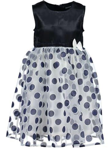 Blue Seven Sukienka w kolorze czarno-białym