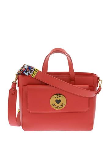 Love Moschino Handtas rood - (B)33 x (H)24 x (D)15 cm