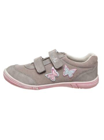 "Lurchi Leder-Sneakers ""Tullu-S"" in Grau"