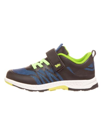 "Lurchi Sneakers ""Linx"" in Schwarz/ Blau/ Grün"