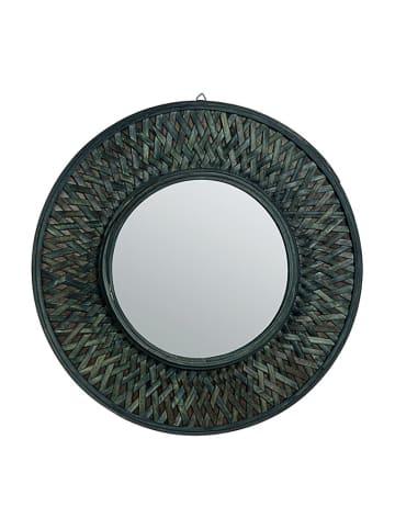 Bizzotto Lustro w kolorze ciemnozielonym - Ø 61 cm