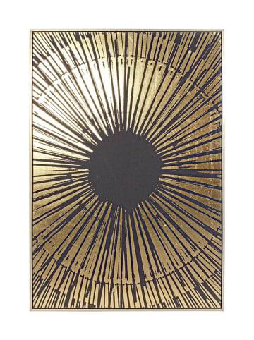 Bizzotto Obraz w kolorze czarno-złotym - (S)82,6 x (W)122,6 x (G)4,5 cm