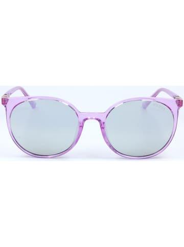 Guess Dameszonnebril paars/lichtblauw