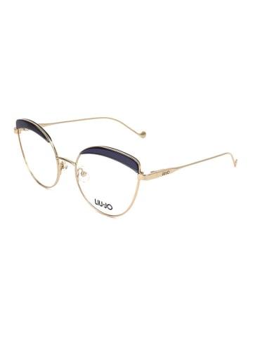 """Liu Jo Oprawki """"LJ2127"""" w kolorze złoto-granatowym"""