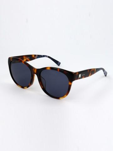 Max Mara Damen-Sonnenbrille in Braun/ Dunkelblau