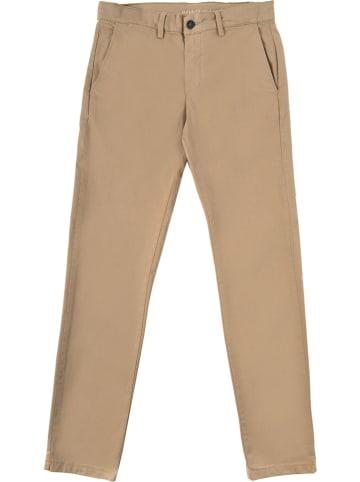 Polo Club Spodnie chino w kolorze beżowym