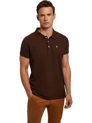 Polo Club Koszulka polo w kolorze brązowym