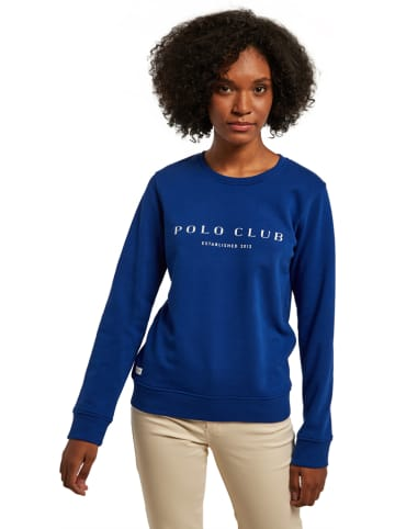 Polo Club Sweatshirt in Blau