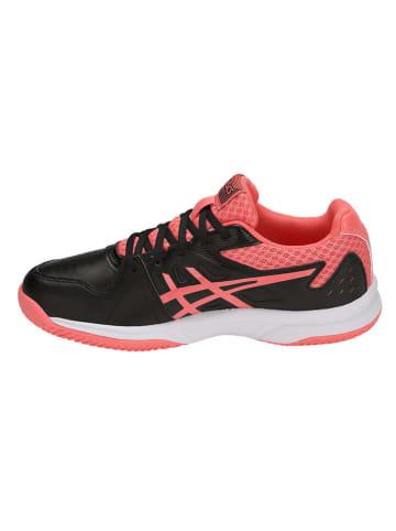 """Asics Tennisschoenen """"Court Slide Clay"""" zwart/rood"""
