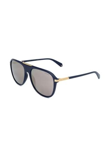 """Polaroid Okulary przeciwsłoneczne """"2070/S"""" w kolorze czarno-złoto-szarym"""
