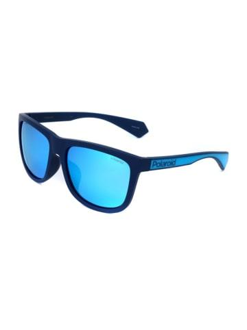 """Polaroid Okulary przeciwsłoneczne """"6064/G"""" w kolorze granatowo-niebieskim"""