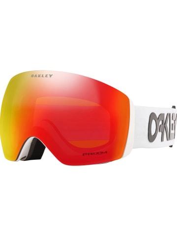 """Oakley Ski-/ Snowboardbrille """"Flight Deck XL"""" in Weiß/ Rot"""