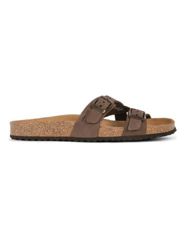 """Geox Slippers """"Brionia"""" bruin"""