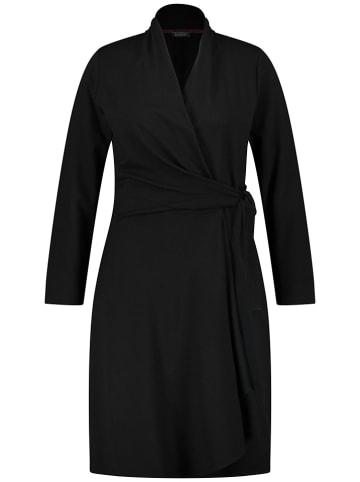 SAMOON Sukienka w kolorze czarnym